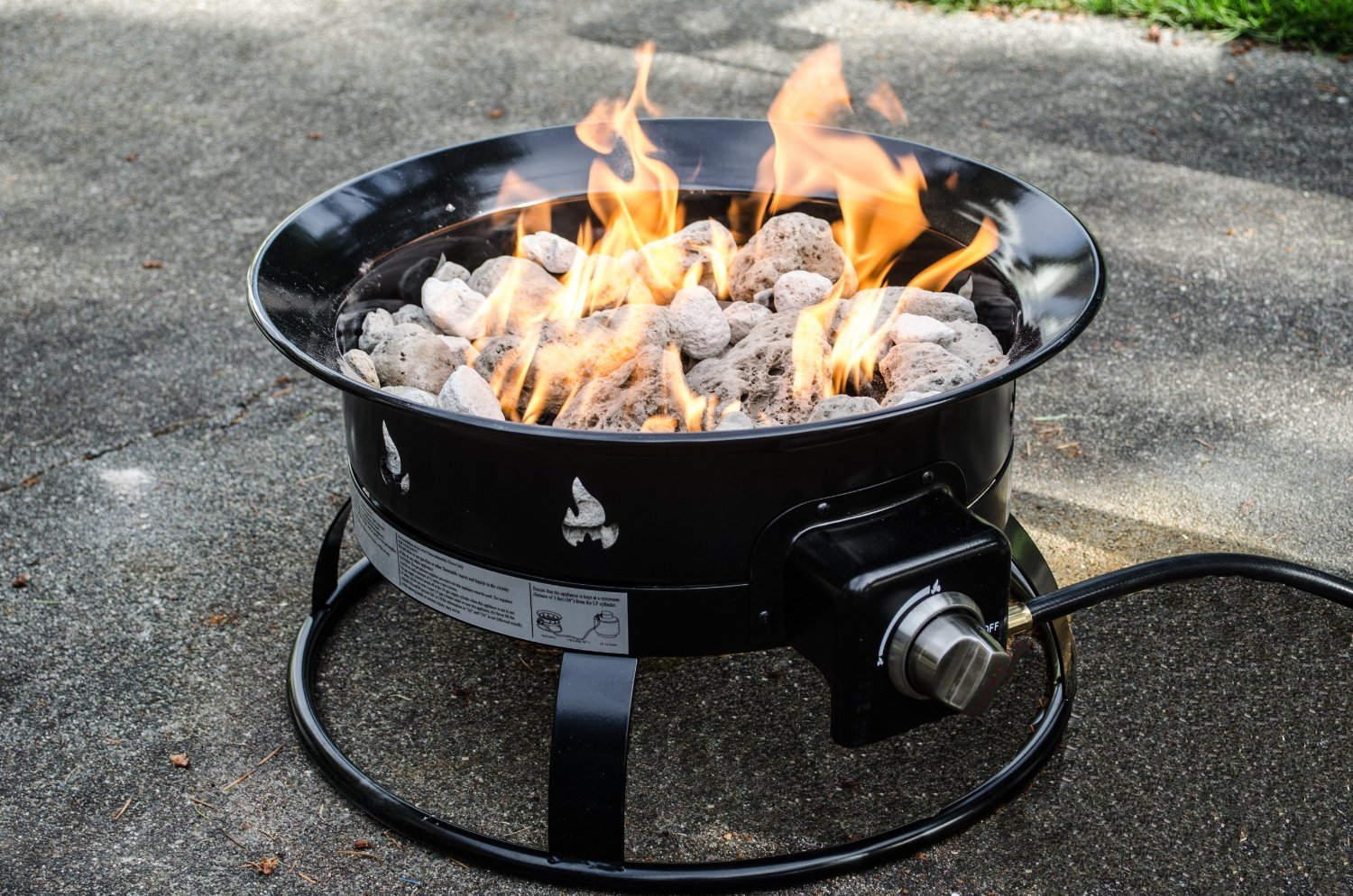 Awesome Propane Fire Pit